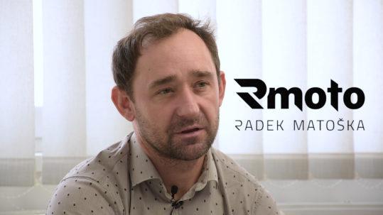 Video odporúčanie Rmoto, Radek Matoška. Snímka obrazovky zachytáva detail na Radek Matoška.