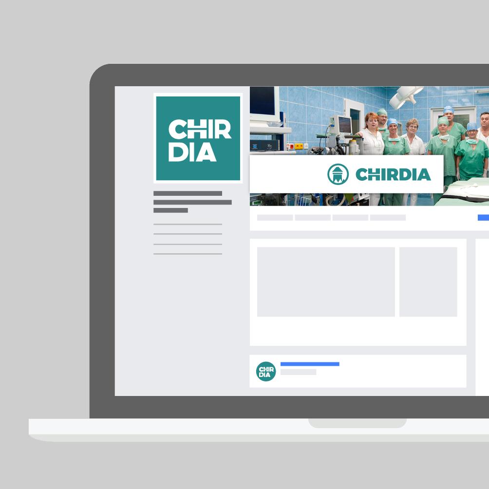 Facebook stránka Chirdia