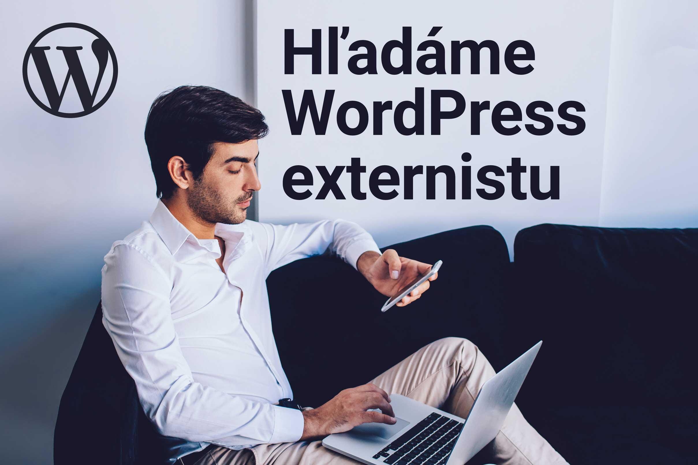 Ponuka práce – Hľadáme externého Wordpressáka