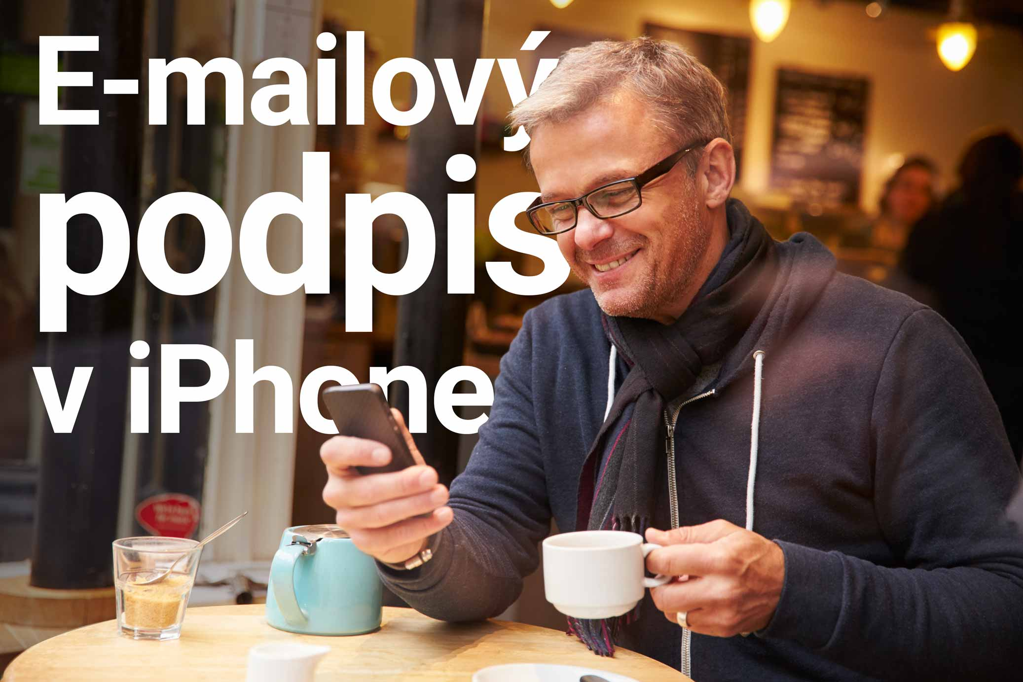 E-mailový podpis v iPhone