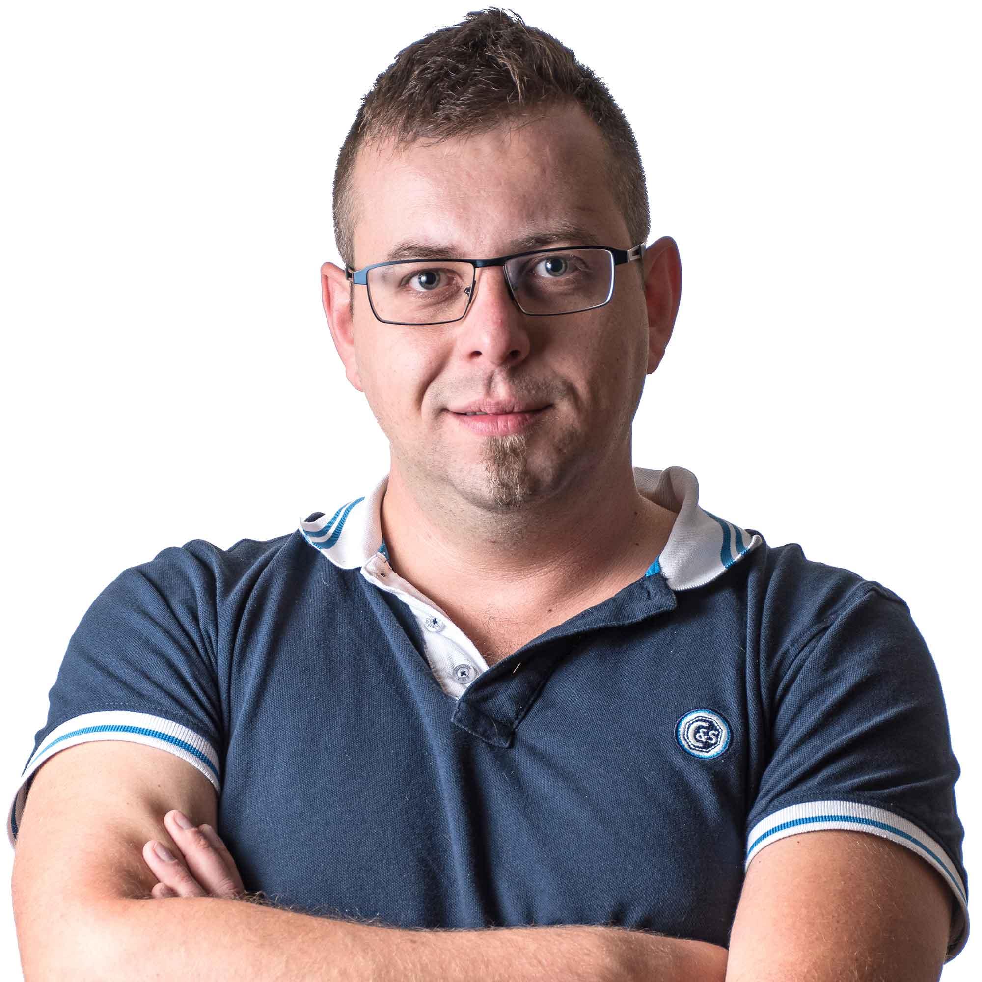 Programmer Slavomír Hošták