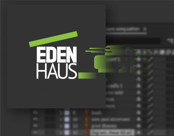 Animované logo Eden Haus, prípadová štúdia